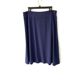 Indigo (Great Norhwest) Navy A-line Skirt